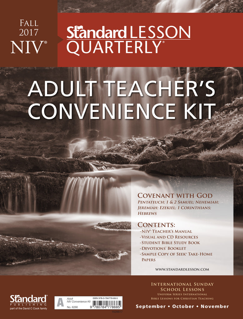 NIV® Adult Teacher's Convenience Kit—Fall 2017