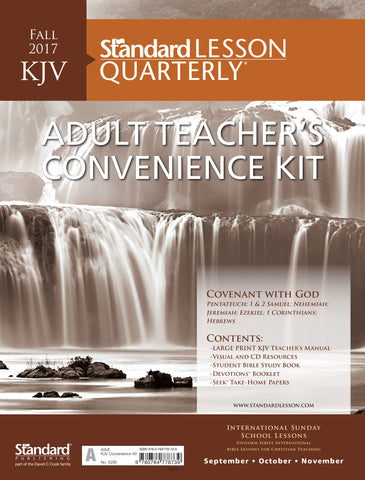 KJV Adult Teacher's Convenience Kit—Fall 2017