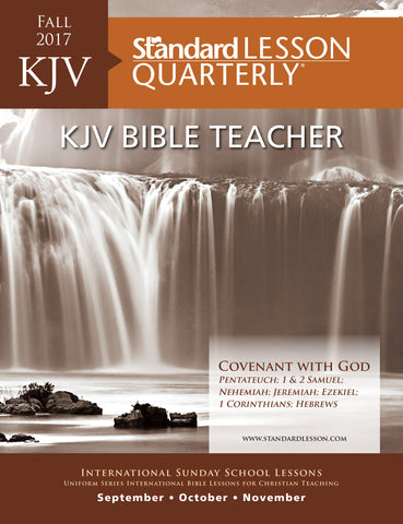 KJV Bible Teacher—Fall 2017