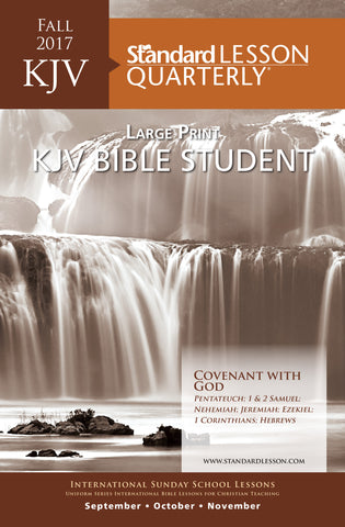 KJV Bible Student Large Print—Fall 2017