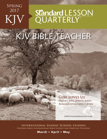 KJV Bible Teacher - Spring 2017