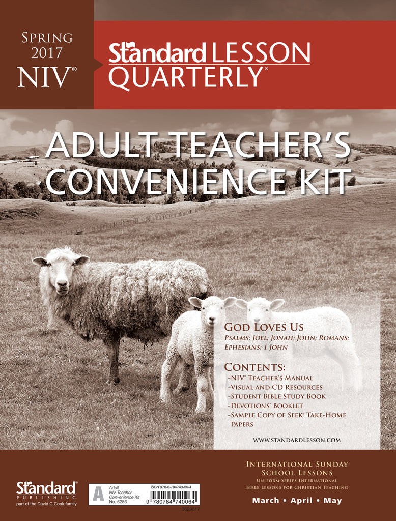 NIV® Adult Teacher's Convenience Kit - Spring 2017