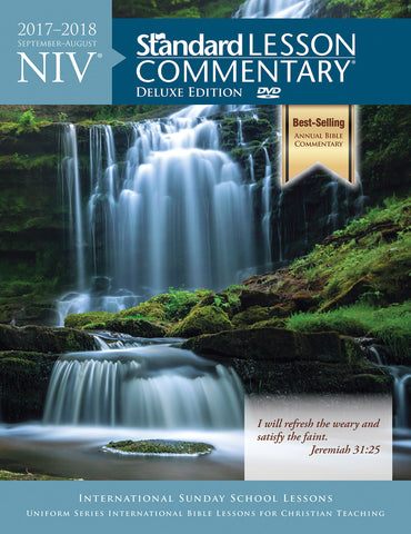 NIV® Standard Lesson Commentary® Deluxe Edition 2017-2018