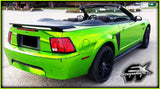 XPO SP Conform Chrome Green Vinyl Wrap mustang 2 | Vvivid Canada