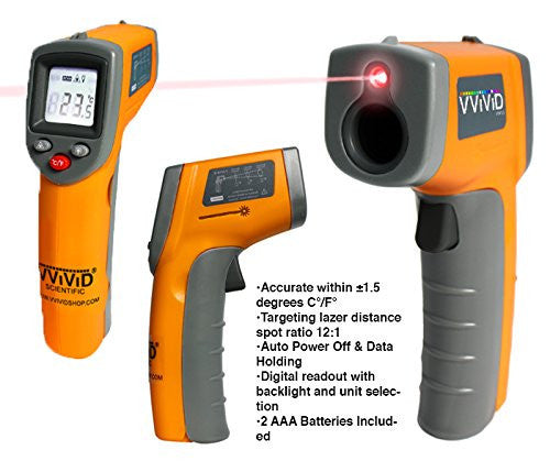 VViViD Infrared Digital Thermometer | Vvivid Canada
