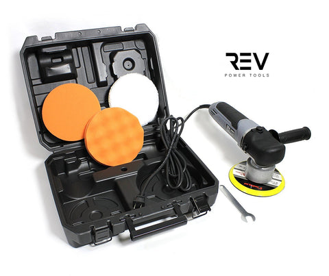 "REV 6"" Random Orbital Polisher and Sander Power Kit 