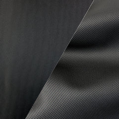 Bycast65 Black Matte Gloss Satin Mesh Pattern Faux Leather Marine Vinyl Fabric display