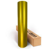 XPO Satin Chrome Gold Vinyl Wrap roll | Vvivid Canada