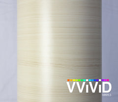 XPO White Maple Wood Grain Vinyl Wrap roll | Vvivid Canada