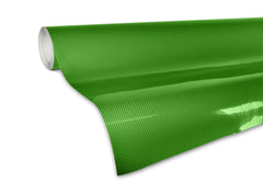 XPO Tech Art Green Gloss Carbon Vinyl Wrap roll 2 | Vvivid Canada