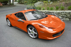 XPO Gloss Orange Vinyl Wrap Ferrari | Vvivid Canada