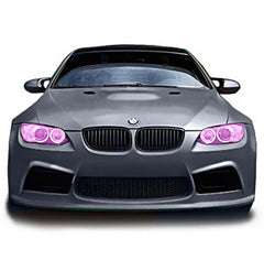 VViViD Purple Headlight Tint Film bmw | Vvivid Canada