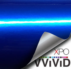 XPO Liquid Metal Blue Vinyl Wrap demo | Vvivid Canada