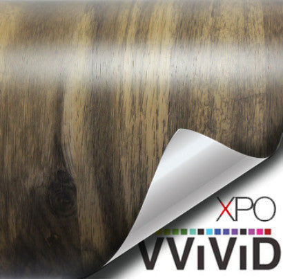XPO Mountain Oak Planks Wood Grain Vinyl Wrap | Vvivid Canada