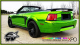 XPO SP Conform Chrome Green Vinyl Wrap mustang 5 | Vvivid Canada