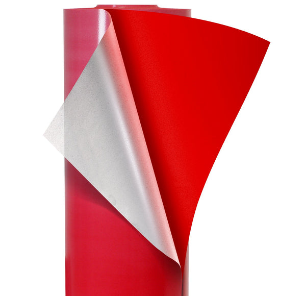 V2 Pro Flock Suede Bright Red Heat Transfer Film HTV