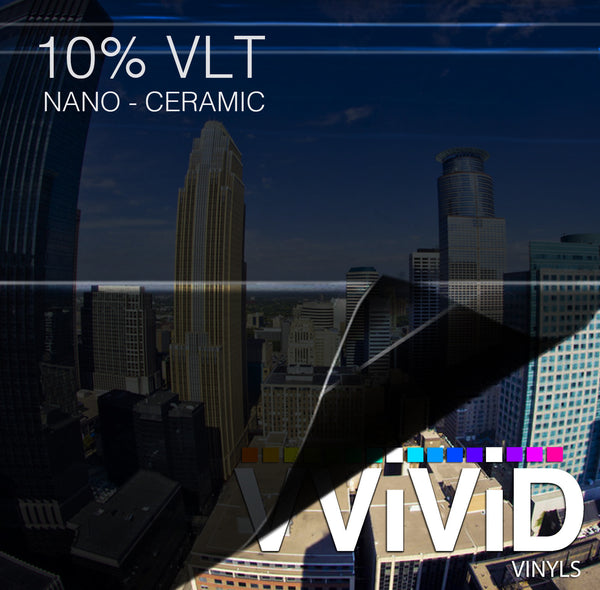 VViViD OPTIC Nano Ceramic Window Tint 10% VLT | Vvivid Canada