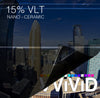 VViViD OPTIC Nano Ceramic Window Tint 15% VLT | Vvivid Canada