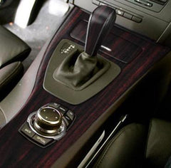 XPO Dark Wood Grain Vinyl Wrap Car Interior | Vvivid Canada