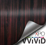 XPO Dark Wood Grain Vinyl Wrap | Vvivid Canada