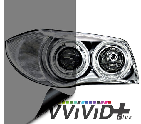 2017 VViViD+ Light Smoke Air-tint® Headlight Tint