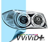 2017 VViViD+ Blue Air-tint® Headlight Tint Vinyl Film | Vvivid Canada