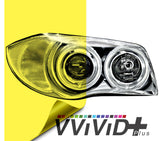 2017 VViViD+ Yellow Air-tint® Headlight Tint Vinyl Film | Vvivid Canada