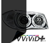 2017 VViViD+ Dark Smoke Air-tint® Headlight Tint