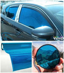 VViViD Blue Transparent Window Tint display