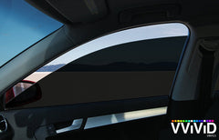 VViViD Dark Black Transparent Window Tint side display