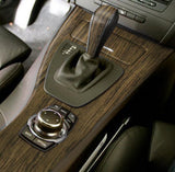 XPO Teak Wood Grain Vinyl Wrap car interior | Vvivid Canada