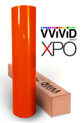 XPO Gloss Orange Vinyl Wrap Roll | Vvivid Canada
