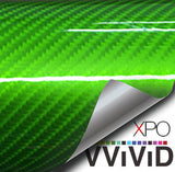 XPO Tech Art Green Gloss Carbon Vinyl Wrap | Vvivid Canada