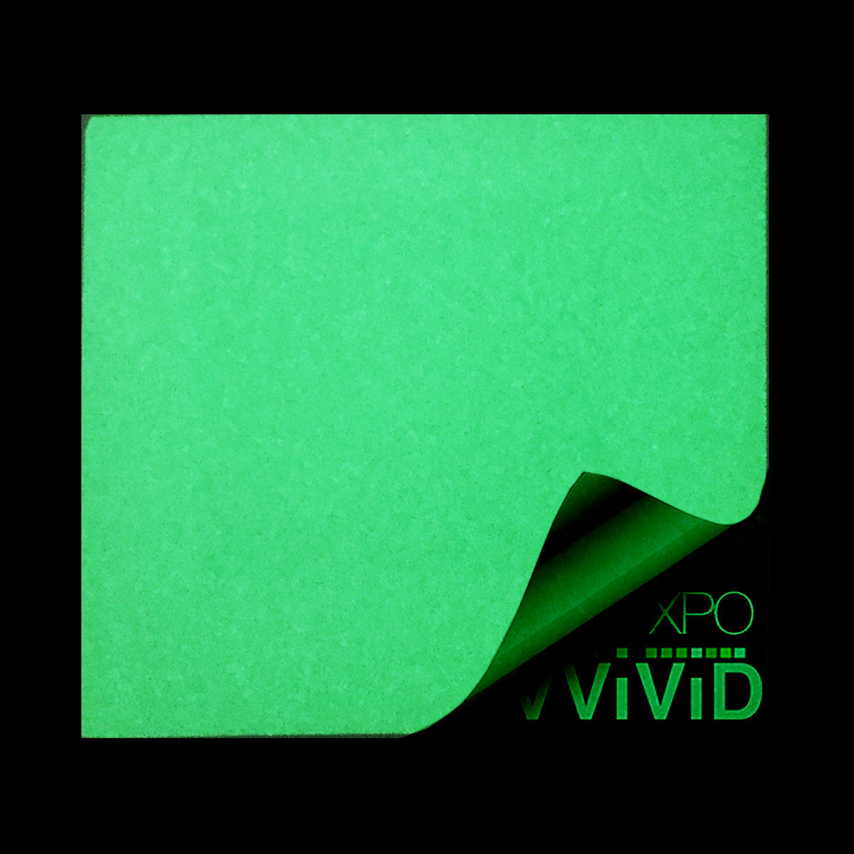 XPO Glow In The Dark Green Vinyl Wrap | Vvivid Canada