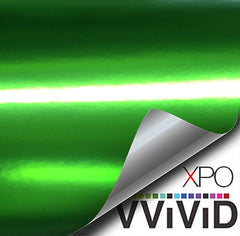 XPO Lustre Chrome Green Vinyl Wrap demo | Vvivid Canada