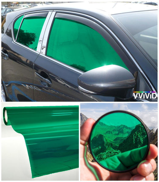 VViViD Green Transparent Window Tint display