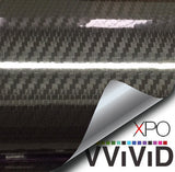 XPO Epoxy Gloss Black Carbon Vinyl Wrap | Vvivid Canada