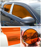 VViViD Orange Transparent Window Tint multy display