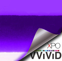 XPO SP Conform Chrome Purple Vinyl Wrap | Vvivid Canada