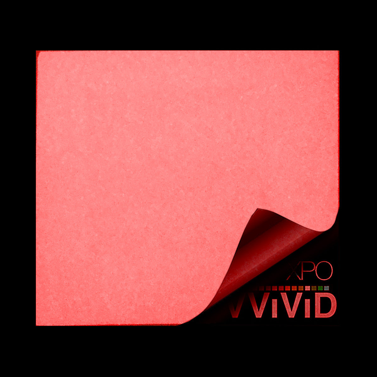 XPO Glow In The Dark Red Vinyl Wrap | Vvivid Canada