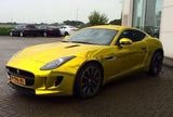 XPO SP Conform Chrome Yellow Vinyl Wrap jaguar 5 | Vvivid Canada