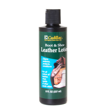 Boot & Shoe Leather Lotion