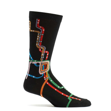 Chicago Subway Map Sock