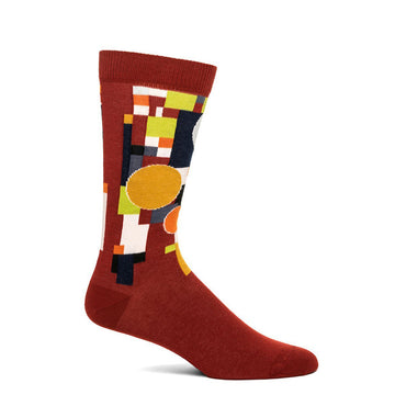 Frank Lloyd Wright Coonley Playhouse Sock