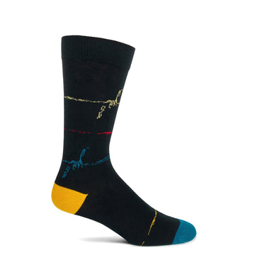 Wire Stripe Sock