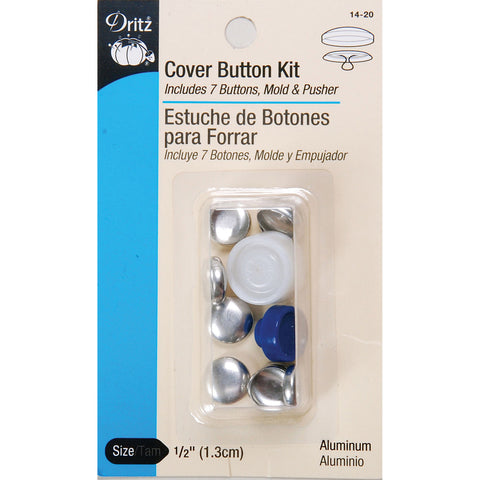 Button Cover Kit - 1/2in