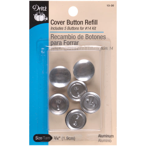 Button Cover Refills - 3/4in