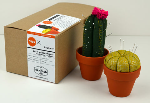Cacti Pincushions Skillbuilder Kit (Pincushion + Column)
