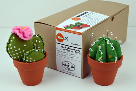 Cacti Pincushions Skillbuilder Kit (Prickly Pear + Barrel)