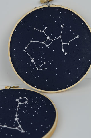 Zodiac Embroidery Project Kit